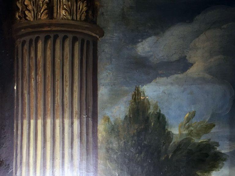 Oppervlakte reiniging muurschildering