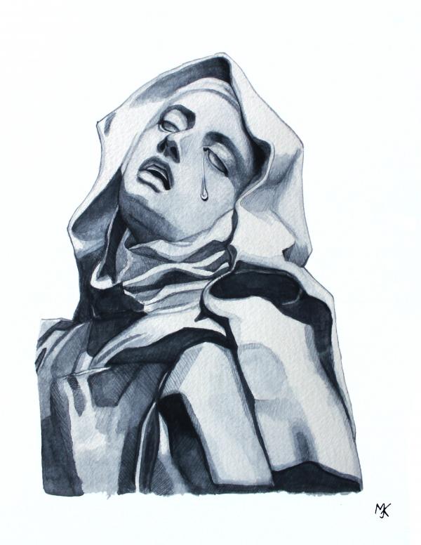 Extase Heilige Theresa